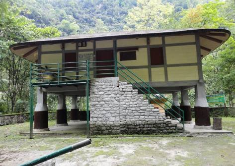 Replica of Traditional Lepcha House