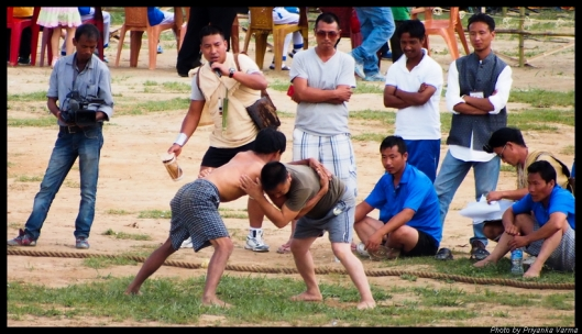 Apatani Traditional Wrestling